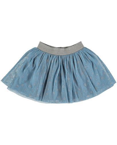 Blauer Tüllrock